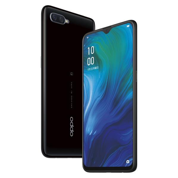 【新品】OPPO RenoA 64GB ブラック<携帯電話>