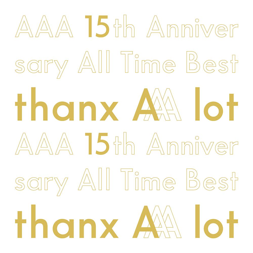 ●【オリジナル特典付】AAA/AAA 15th Anniversary All Time Best -thanx AAA lot-<5CD>(初回生産限定盤)[Z-8993]20200219