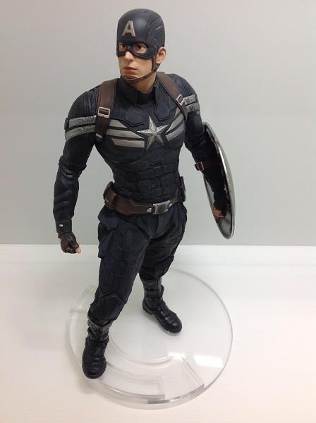 【中古】キャプテン アメリカ Captain America The ウインター ソルジャー ステルス Version<フィギュア>(代引き不可)6546