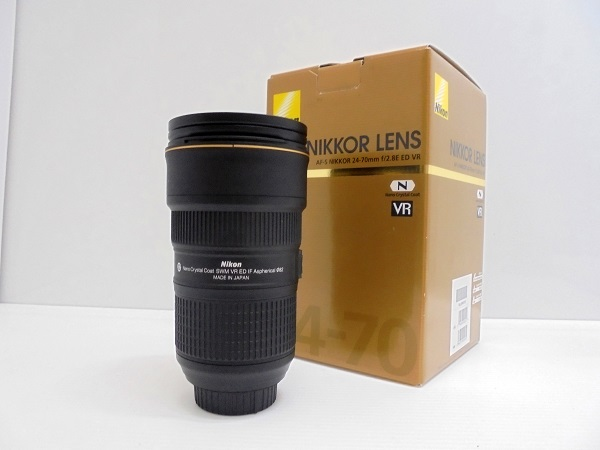 【中古】NIKKORレンズ AF-S 24-70mm f2.8E ED VR<カメラ>(代引き不可)6546
