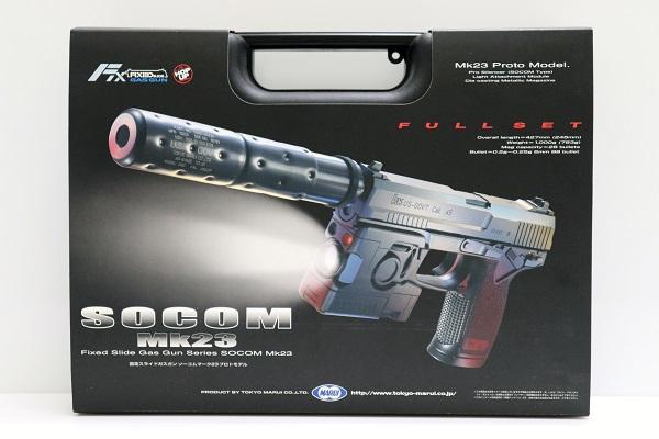 【中古】6mm BB 固定スライドガスガン ソーコム Mk23 プロトモデル<ミリタリー>(代引き不可)6546