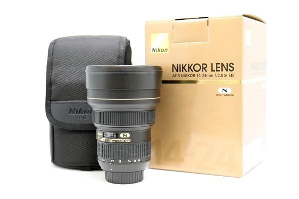 【中古】開封済未使用品 ズームレンズ AF-S NIKKOR 14-24mm f/2.8G ED<カメラ>(代引き不可)6546