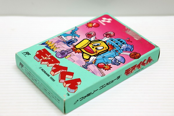 【中古】ファミコン用ゲームソフト モアイくん 箱説あり<レトロゲーム>(代引き不可)6546