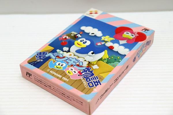 【中古】ファミコン専用ゲームソフト 夢ペンギン物語 箱説あり<レトロゲーム>(代引き不可)6546