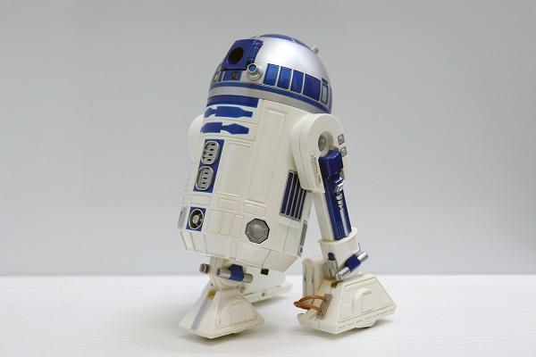 【中古】【現状販売】【Webカメラ使用不可】【インテリア】STAR WARS R2-D2 ワイヤレスウェブカメラ+ライトセーバー型スカイプフォン<その他>(代引き不可)6546