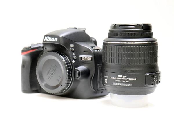 【中古】デジタル一眼レフカメラ D5100 ダブルズームキット<カメラ>(代引き不可)6546