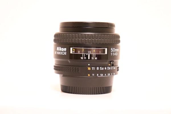 【中古】標準レンズ AI AF Nikkor 50mm f/1.4D<カメラ>(代引き不可)6597