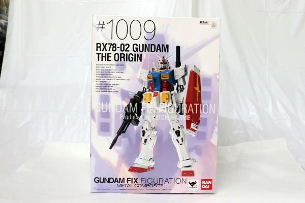 【中古】GUNDAM FIX FIGURATION METAL COMPOSITE #1009 ガンダム・ジ・オリジン<フィギュア>(代引き不可)6605