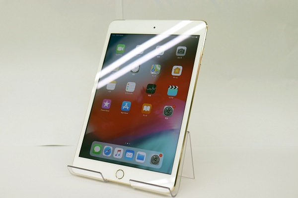 【中古】docomo iPad mini3 Wi-Fi+Cellular 64GB ゴールド ABランク<中古携帯>(代引き不可)6565