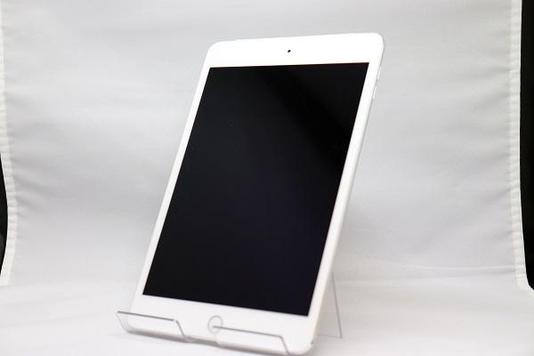 【中古】au iPad mini4 Wi-Fi+Cellular 16GB シルバー ABランク<中古携帯>(代引き不可)6570