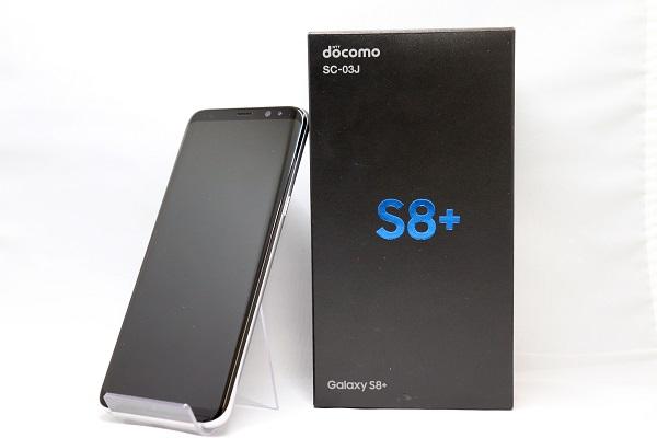 【中古】SIMフリー SC-03J Galaxy S8+ 64GB アークティックシルバー Aランク<中古携帯>(代引き不可)6570