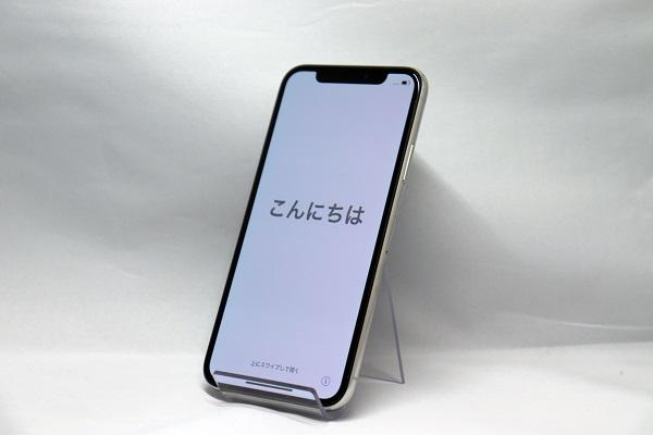 【中古】docomo iPhoneX 64GB シルバー Bランク<中古携帯>(代引き不可)6570