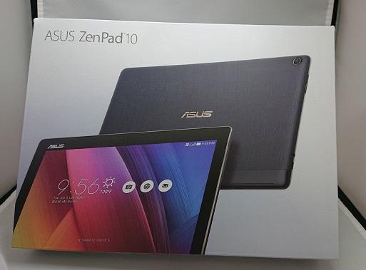 【中古】SIMフリー ASUS ZenPad10 16GB アッシュグレー Sランク<中古携帯>(代引き不可)6570