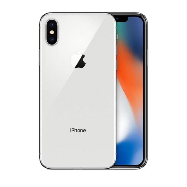 【中古】docomo iPhoneX 64GB シルバー Sランク<中古携帯>(代引き不可)6574