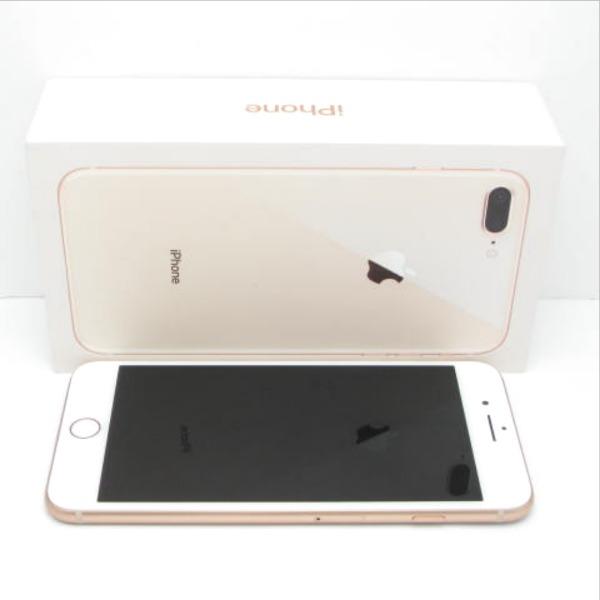 【中古】SIMフリー iPhone8 Plus 64GB ゴールド Bランク<中古携帯>(代引き不可)6574