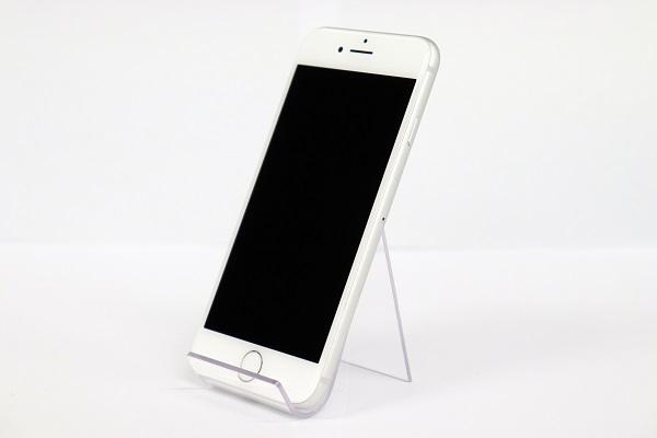 【中古】au iPhone8 64GB シルバー ABランク<中古携帯>(代引き不可)6574
