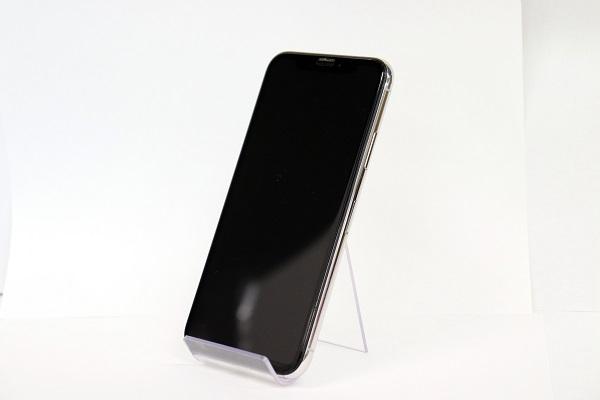 【中古】au iPhoneX 64GB シルバー ABランク<中古携帯>(代引き不可)6574