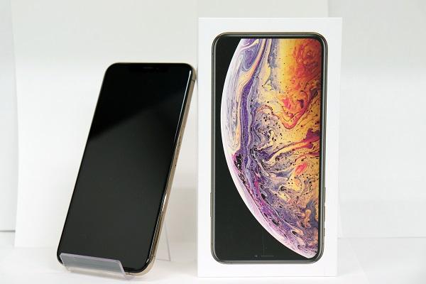【中古】docomo iPhoneXS Max 64GB ゴールド BCランク<中古携帯>(代引き不可)6574