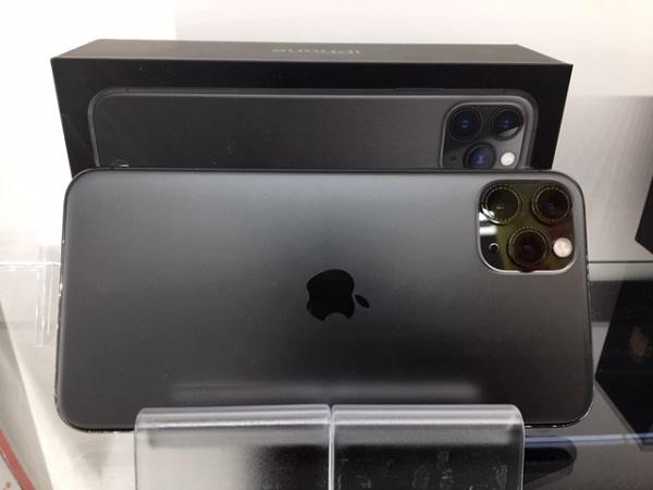 【中古】docomo iphone 11 pro Max 256GB スペースグレイ Aランク<中古携帯>(代引き不可)6582