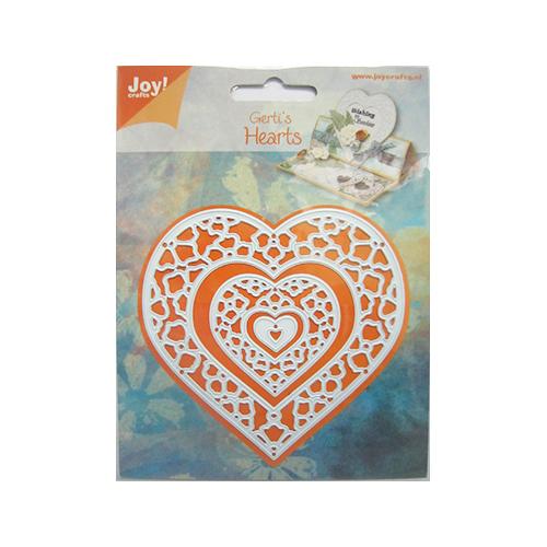 上質 Joy Crafts ジョイ クラフツ オランダ スクラップブッキング ダイカット DIY クラフト フレーム 6002-0408 抜型 祝日 Heart アルバム作り ハンドメイド カード作り ハート ダイ
