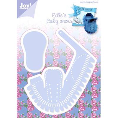 Joy! Crafts ジョイ・クラフツ(オランダ) スクラップブッキング ダイカット DIY クラフト ハンドメイド カード作り アルバム作り 6002-0271/ジョイ・クラフツ/ダイ(抜型)/ファーストシューズ ベビー靴 くつ