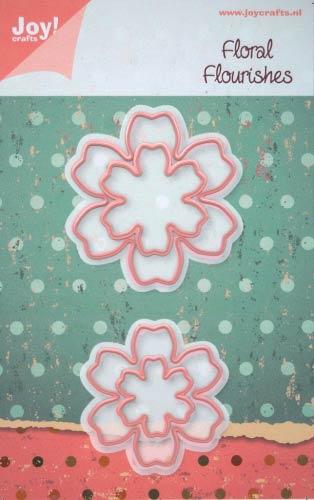 Joy Crafts ジョイ クラフツ オランダ スクラップブッキング 永遠の定番 ダイカット DIY クラフト ハンドメイド Flower ダイ 抜型 カード作り 花 6002-0160 記念日 5 アルバム作り