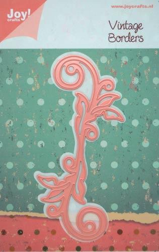 Joy 初回限定 Crafts ジョイ クラフツ オランダ スクラップブッキング 販売期間 限定のお得なタイムセール ダイカット DIY クラフト ハンドメイド カード作り アルバム作り 抜型 葉っぱ ダイ 6002-0163 leafs ボーダー Borders swirl
