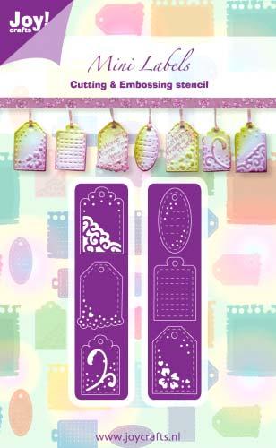 Joy Crafts ジョイ クラフツ オランダ 新作からSALEアイテム等お得な商品満載 スクラップブッキング ダイカット DIY クラフト Labels 超激安 ハンドメイド アルバム作り ラベル カード作り 6002-0246 ダイ 抜型