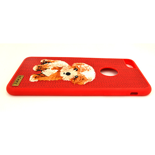 進入NiMMY EMBROIDERY iPhone Case/iPhone情况dog小狗刺綉高質量