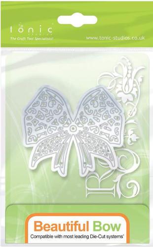 Tonic Studios トニック スタジオ イギリス スクラップブッキング ダイカット DIY クラフト ハンドメイド カード作り オンラインショッピング Beautiful アルバム作り 抜型 リボン※ 87E Bow Rococo 贈呈 ダイ