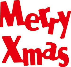 WonderHouse ワンダーハウス オリジナル スクラップブッキング ダイカット DIY クラフト ハンドメイド merry 抜型 ブランド買うならブランドオフ カード作り メリークリスマス N42-064 ダイ christmas お買い得 アルバム作り