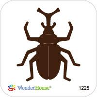 WonderHouse ワンダーハウス オリジナル スクラップブッキング ダイカット DIY クラフト ハンドメイド カード作り N42-200 豊富な品 抜型 beetle カブトムシ アルバム作り 新作からSALEアイテム等お得な商品満載 ダイ