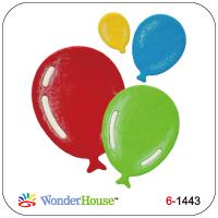 WonderHouse ワンダーハウス オリジナル 期間限定で特別価格 スクラップブッキング ダイカット DIY クラフト ハンドメイド カード作り N57-063 格安 価格でご提供いたします balloon 風船 ダイ 抜型 アルバム作り ふうせん セット