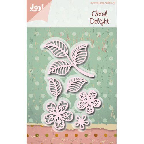 Joy Crafts ジョイ クラフツ オランダ スクラップブッキング ダイカット 人気 おすすめ DIY クラフト ハンドメイド フラワー ダイ 6002-1114 アルバム作り 公式通販 花 抜型 Delight Floral カード作り