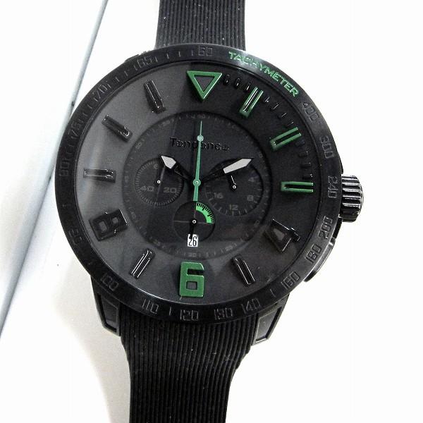 時計 テンデンス TT560003 ガリバー スポーツ クロノ メンズ腕時計 ★送料無料★【中古】【あす楽】