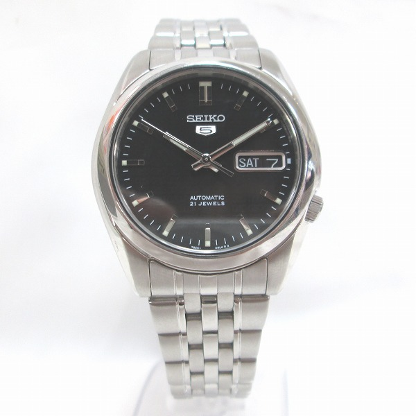 セイコー 5 ファイブ 7S26-01V0 メンズ 自動巻き 時計 腕時計 ★送料無料★【中古】【あす楽】