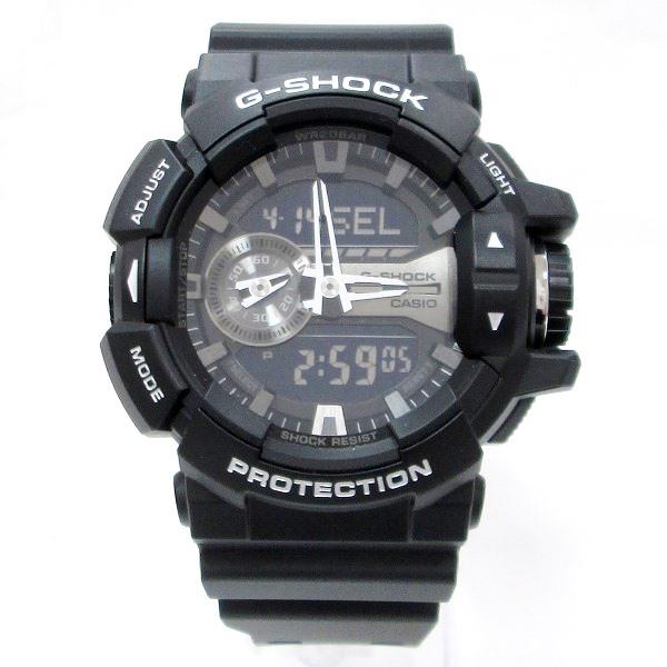 カシオ G-SHOCK GA-400GB メンズ クオーツ 黒文字盤 時計 腕時計 ★送料無料★【中古】【あす楽】