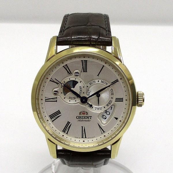 オリエント WV0361ET ワールドステージコレクション SUN&MOON 時計 腕時計 メンズ ★送料無料★【中古】【あす楽】