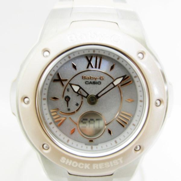 カシオ BabyーG トリッパー MSGー3200C ソーラー 時計 腕時計 レディース 未使用品 ★送料無料★【中古】【あす楽】