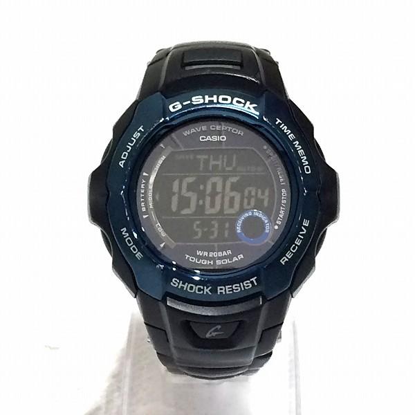 カシオ G-SHOCK GW700-BDJ ソーラー電波時計 メンズ ★送料無料★【中古】【あす楽】