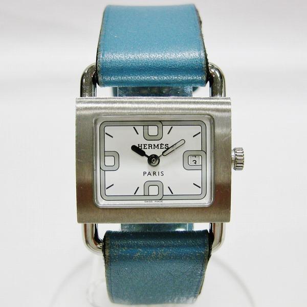 エルメス Hermes ミニ バレニア レディースクォーツ BA1.210 レザーベルト 時計 腕時計 レディース ★送料無料★【中古】【あす楽】