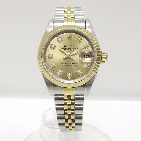 ロレックス デイトジャスト 69173G W番 時計 腕時計 レディース ★送料無料★【中古】【あす楽】