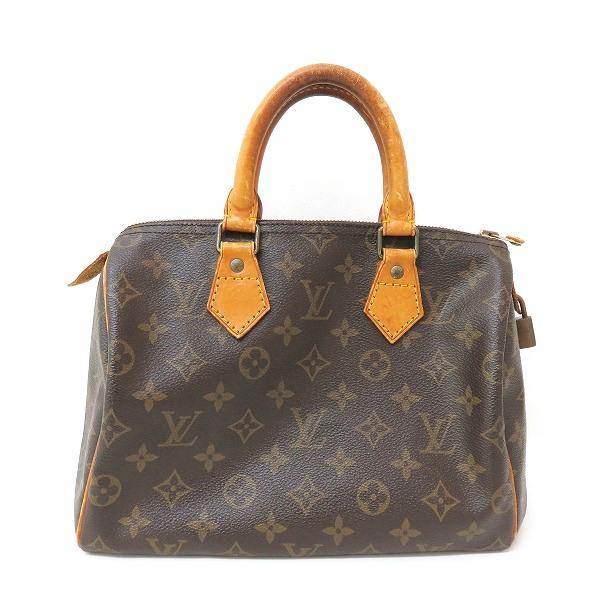 ルイヴィトン Louis Vuitton モノグラム スピーディ25 M41528 ハンドバッグ バッグ ボストンバッグ ユニセックス ★送料無料★【中古】【あす楽】
