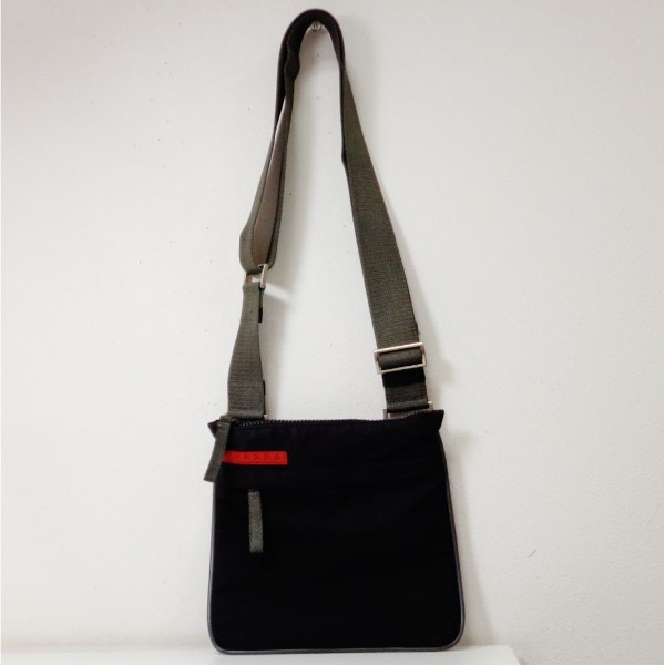 2496cda59726 [brand] Prada sports [model number] 4VA032 [serial number] - [color] Black  [material] Nylon [specifications] The outside: Pocket *1 opening pocket *1  with ...