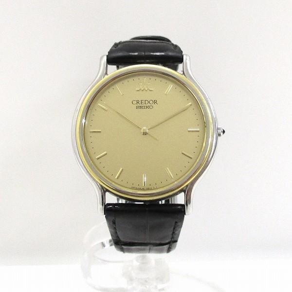 セイコー クレドール 8J81-6B00 K18YG SS クォーツ 時計 腕時計 メンズ ★送料無料★【中古】【あす楽】
