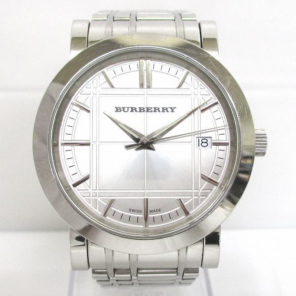 バーバリー Burberry BU1350 クォーツ 時計 腕時計 メンズ ★送料無料★【中古】【あす楽】