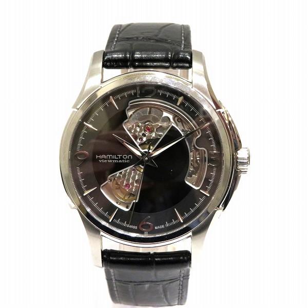ハミルトン ジャズマスター オープンハート H32565735 自動巻き メンズ 腕時計 ★送料無料★【中古】【あす楽】