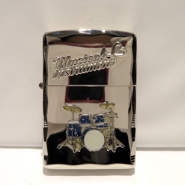 ジッポー ミュージカル インスツルメント ドラム 喫煙具 ユニセックス 小物 ★送料無料★【中古】【あす楽】