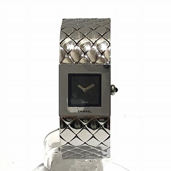 シャネル CHANEL マトラッセ クォーツ 腕時計 レディース ★送料無料★【中古】【あす楽】