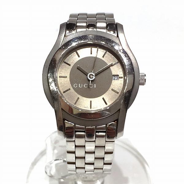 グッチ GUCCI 5500L クォーツ 時計 腕時計 レディース ★送料無料★【中古】【あす楽】